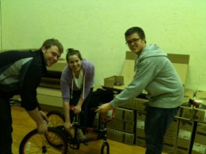 Boys and Girls Club, Assembling the Bikes