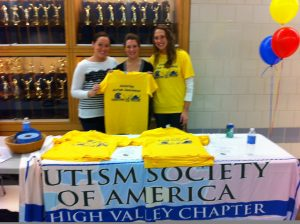 Participating at the Autism Society's Tourney